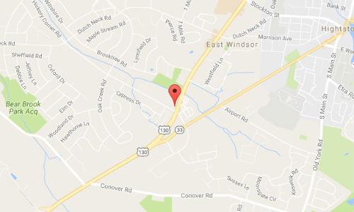 location of dealership in east windsor nj