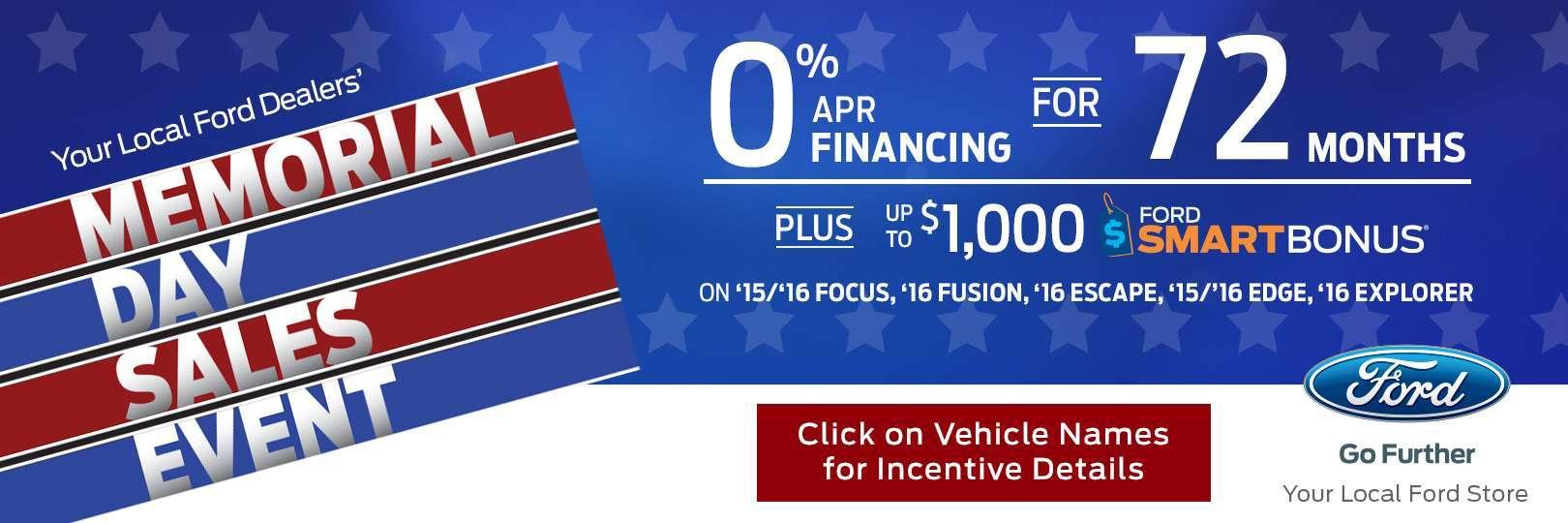 Memorial Day Used Car Deals