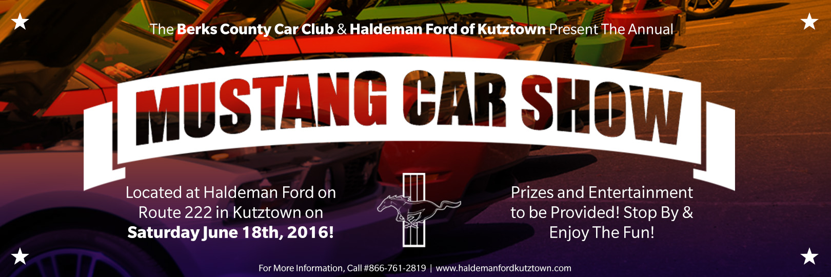 Berks County Mustang Car Show At Haldeman Ford - Haldeman ford car show