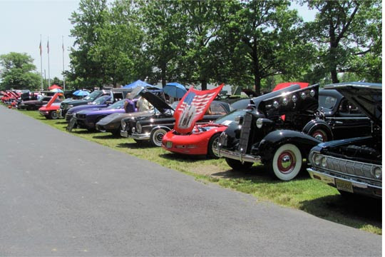 Haldeman Annual Car Show - Haldeman ford car show